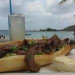 Restaurant at Jan thiel's beach