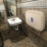 Lobby restroom