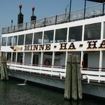 Don't miss a trip on the Minne Ha Ha for a great tour and views of Lake George .