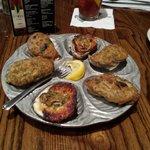 Delicious juicy Oysters