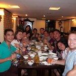awesome dinner @Hanoi 3B Hotel