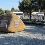 Stone at Hector Pieterson Memorial
