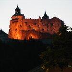 Burg HohenWerfen - view from Werfen