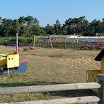 l'unique aire de jeux pour les jeunes enfants