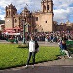 Plaza de Armas, Cusco, Preparando el Inti Raymi