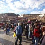 Plaza de Armas, Cusco, Fiestas de junio