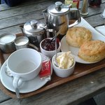 The infamous clotted cream teas...