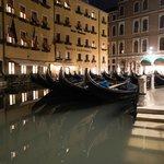 Gondola parking spot near St. Marks Square