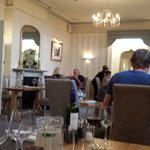 The older dining room at Wolfscastle Country Hotel