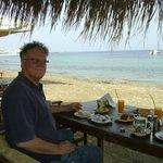 Petit dejeuner sur la plage