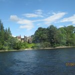 Jacobite Cruise Loch Ness - castle seen from boat