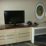 Zona scrivania/TV
