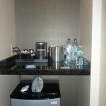 Zona frigo/macchina caffè
