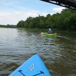 Kayaking on the Grand River