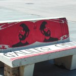 panca dedicata a Galileo Chini