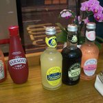 Local beverages -- very tasty.  Try the Rose Lemonade!