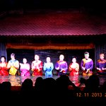 Artists at Thang Long Water Puppet Theatre