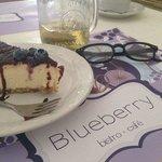 pay de queso con Blueberry