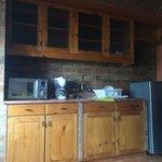 Kitchen in room 13