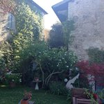 Accommodation garden