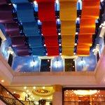 lobby ceiling