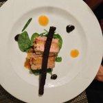 Foie gras avec mandarine