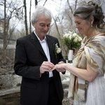 Mariage intime après 25 ans de vie commune