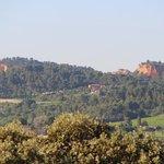 Vue sur Roussillon