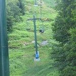 Chair lift at the ski resort