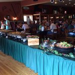 The Sunday buffet at Timbercreek Restaurant in Louisburg, KS