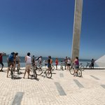 The final stop of the tour - in Belem