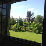 Garden view from Nuptiale room