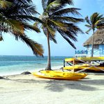Kayaks and Palapa Bar