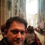 Inside the Cologne Cathedral March, 2014