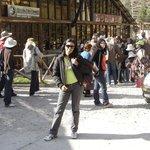 Na estação de trem de Cusco a Macho picho! Paisagens incríveis durante a viagem!