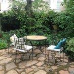 Courtyard - enjoyed espresso outdoors