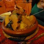Le plat : Couscous aux légumes : 52dh
