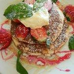 Pancake alla fragola...sublime!