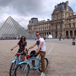 Blue bike tours