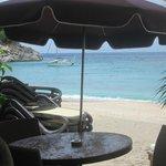 Fab beach view