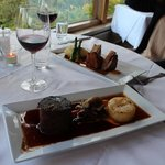 Stonefield Castle Hotel Dinner