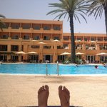 View from a lounger