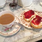 cream tea at the vintage cake house