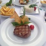 Fillet steak to die for