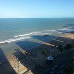 Vista da Praia de Boa Viagem na parte da tarde