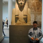 Another egyptian statue