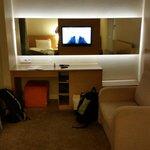 Room - desk end