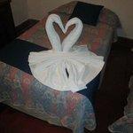 Imagen de una de las camas :)
