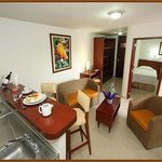 Kitchenette View - Suite