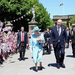 Royal Visit to Chatsworth